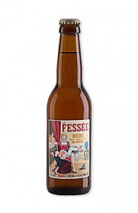Bière La Fessée Blonde 33cl